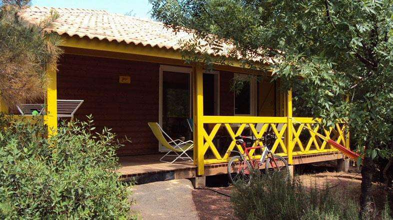 Chalet rental 6 to 8 persons in  Hérault